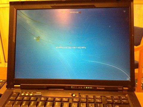 windows 7 flip screen