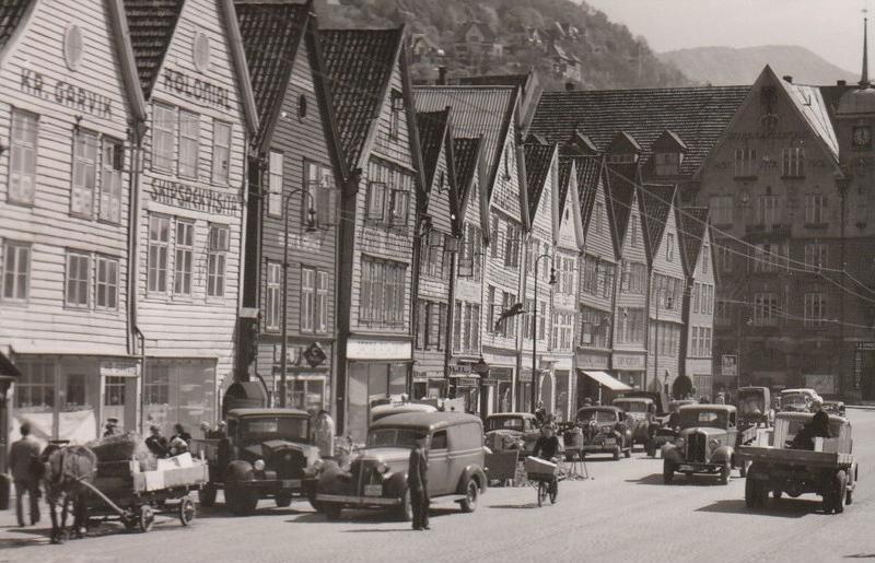 Bryggen 1951