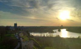 Skywatch Friday – Spring in Belgrade