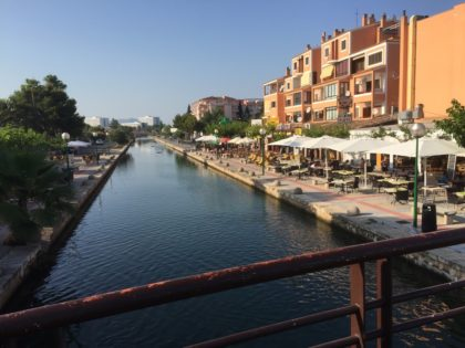 Port Alcudia - cozy channel
