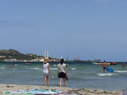 Alcudia - beach