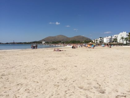 Port Alcudia - beach