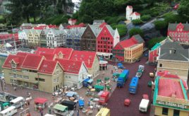 Visiting Legoland in Denmark