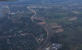 Cartraffic from the air